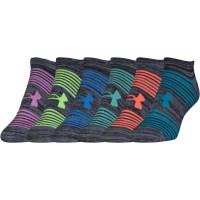 UNDER ARMOUR Essential Twist 2.0, 6-pack, dámske ponožky