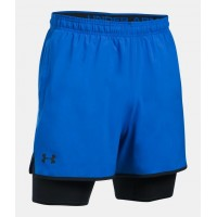 UNDER ARMOUR QUALIFIER 2-IN-1 SHORT, pánske