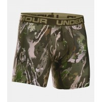 UNDER ARMOUR Camo BoxerJock 2.0 - 6in, boxerky