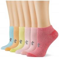 UNDER ARMOUR ESSENTIAL COTTON NS 6PK, dámske ponožky