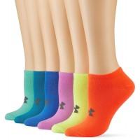 UNDER ARMOUR W SOLID 6 PKS NO SHOW, dámske ponožky