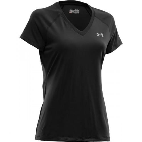 UNDER ARMOUR Tech short sleeve v-neck, dámske tričko