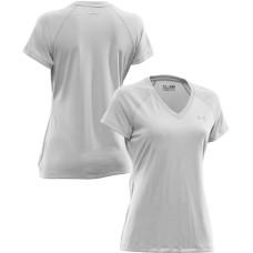UNDER ARMOUR Tech Shortsleeve Tee V-neck biele, dámske tričko