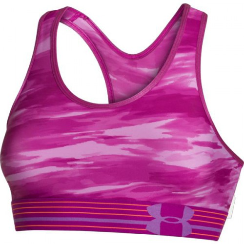 UNDER ARMOUR HEATGEAR® ALPHA PRINTED BRA, dámska podprsenka