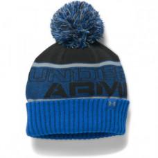 UNDER ARMOUR Boys' Silver Blue/Black, chlapčenská čiapka