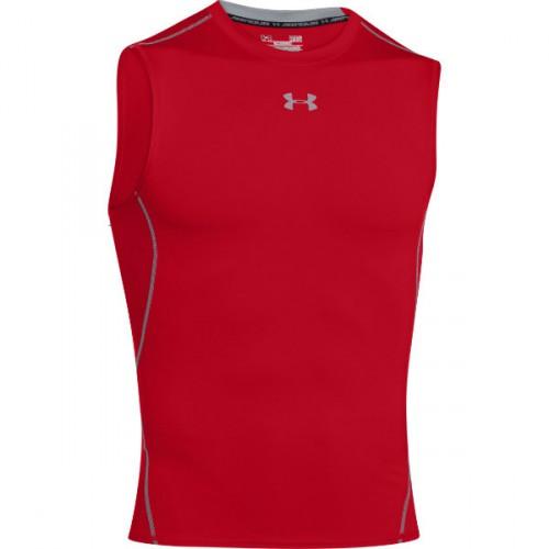UNDER ARMOUR HEATGEAR® SLEEVELESS T-SHIRT, pánske kompresné tričko