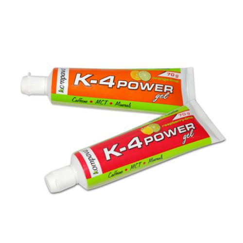Kompava K4 POWER Gel, energetický gel