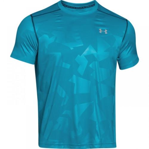 UNDER ARMOUR ColdBlack tyrkysové, pánske bežecké tričko