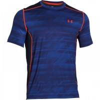 UNDER ARMOUR modré, pánske bežecké tričko