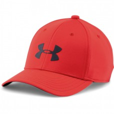 UNDER ARMOUR Headline Stretch Fit Cap RED, detská šiltovka