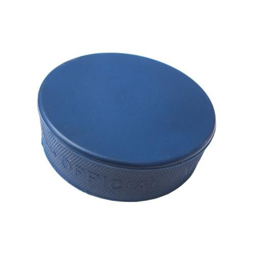 Hokejový puk - modrý