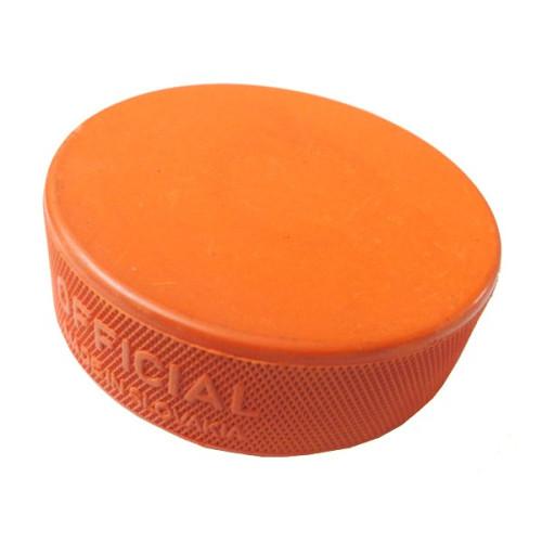 Hokejový puk - oranžový